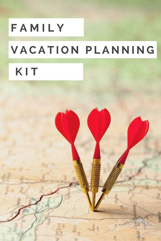Férias em família, Modelos de orçamento and Férias on Pinterest - vacation planning template