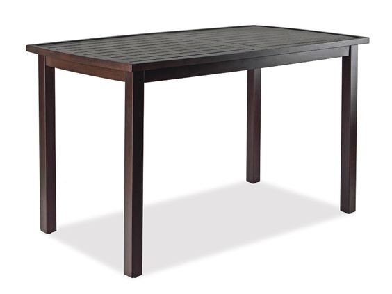 Thos. Baker Aluminum Outdoor Gathering Table