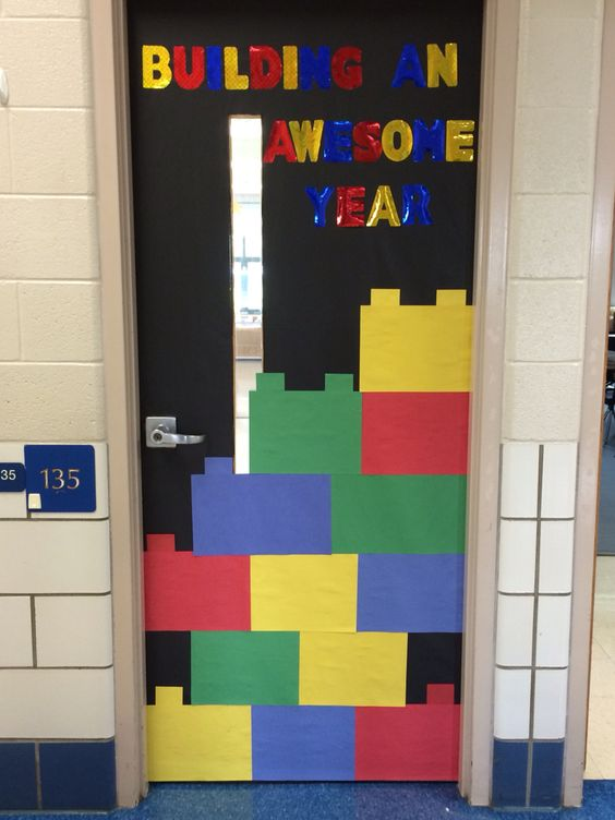 Classroom Block Design : Lego one piece and doors on pinterest
