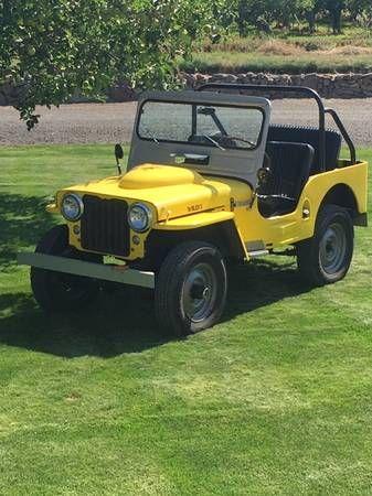 1946 Cj2a Monitor Wa2 Jeep Wrangler Antique Cars Jeep