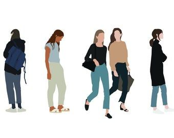 Pin On 2d Cutout People
