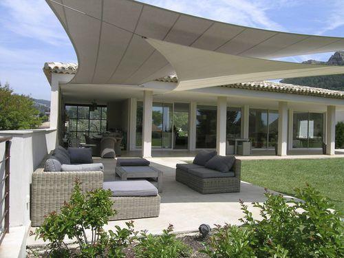 Tenda A Vela Resistente Agli Uv Contract Triangolare Villa