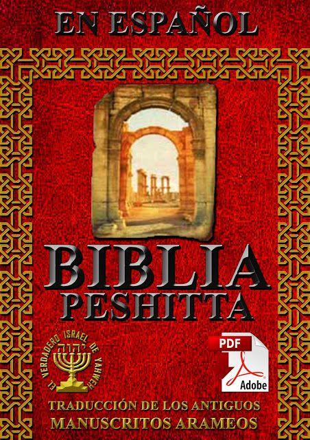 Modulo E Sword Peshitta Aramea Biblia Septuaginta Biblia Hebrea