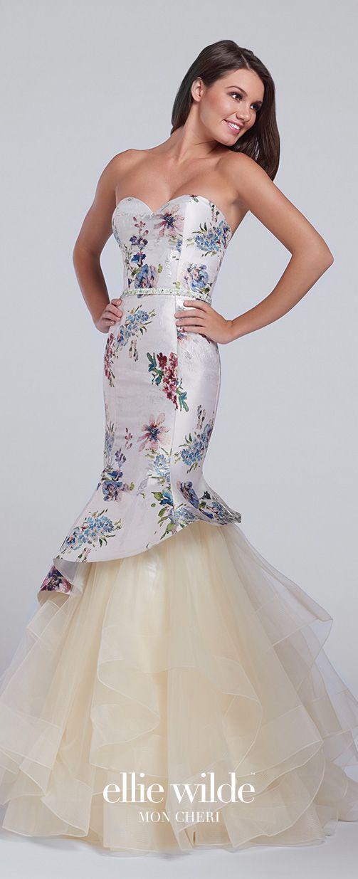 Style strapless dress layered