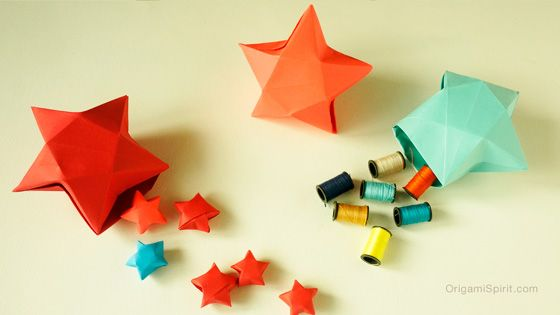 An Origami Star Box –Full of Creative Possibility! post image
