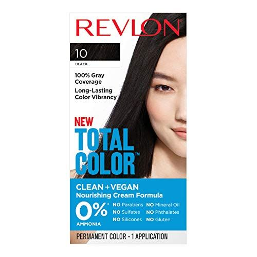 Revlon Total Color Hair Color Vegan 100 Gray Coverage Hair Dye
