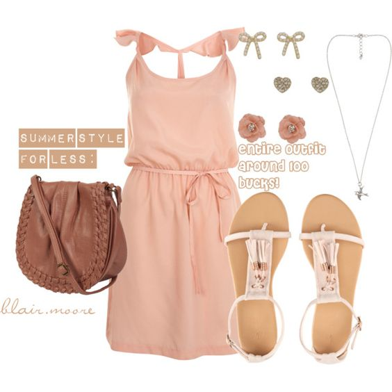 Summer Style Look For Less Fashion Outfit Polyvore