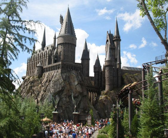 Hogwarts, The Wizarding World of Harry Potter, Orlando - USA