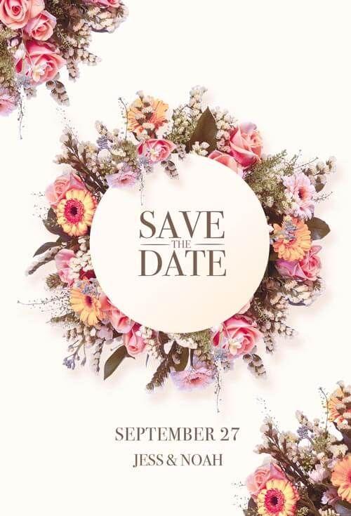 Wedding Invitation Psd Template Creativeflyers Wedding Invitation Card Design Free Wedding Invitation Templates Wedding Invitations