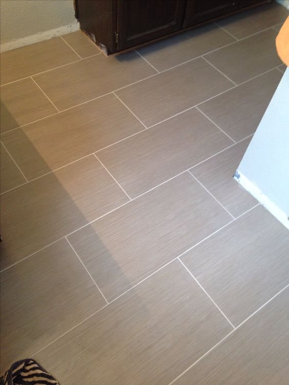 Metro charcoal 12x24 tiles house ideas pinterest for 12x24 floor tile layout