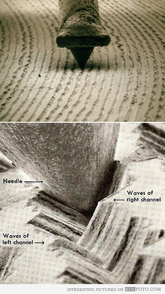 Turntable Needle And Vinyl Under Microscope See Don T