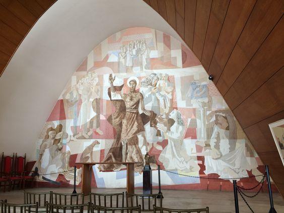 Painel na Igreja da Pampulha-MG