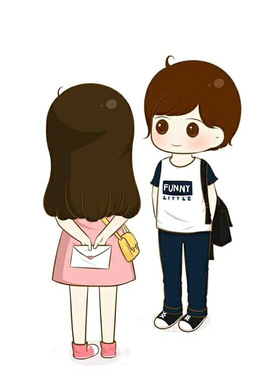 Pin By Rifky Febrian On Couple Chibi Cute Love Wallpapers Cute Love Cartoons Cute Cartoon Wallpapers Cool cartoon love wallpaper