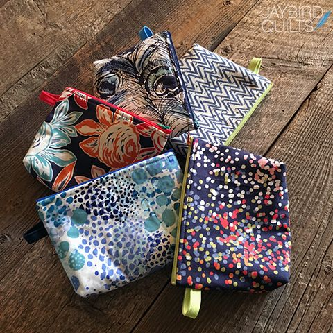 I Fell in Love with Zippers in 2015 + a Giveaway! | Jaybird Quilts
