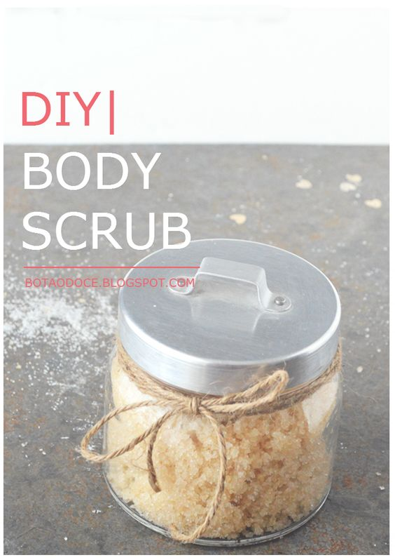 RELAXING HOMEMADE BODY SUGAR SCRUB