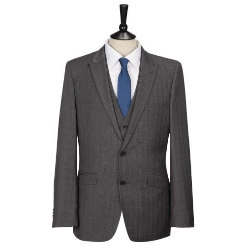 ONESIX5IVE Slim Fit Prince of Wales Check Three Piece Suit £89.00