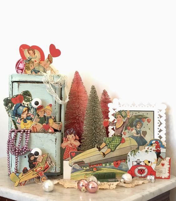Favorite Things Thursday ~ vintage valentines ~ LeCultivateur