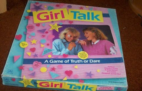 Girl Talk. This is surprisingly fun to play now with friends with two simple changes- co-ed game and vodka.