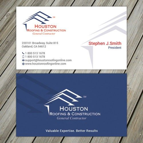 New Business Card Layout For Existing Construction Company Business Card Contest Design Busin Business Cards Layout Company Business Cards Business Card Design