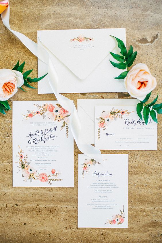 Garden Wedding Invitation Ideas green turquoise garden party wedding invitations by mountain paper The Colors Feel Appropriate For Our Wedding As Well I Like The Calligraphy For The Names And I Think Its Interesting That They Are