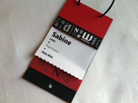 brand new conference tag name badges pinterest conference badges branding ideas and brand identity - Name Tag Design Ideas
