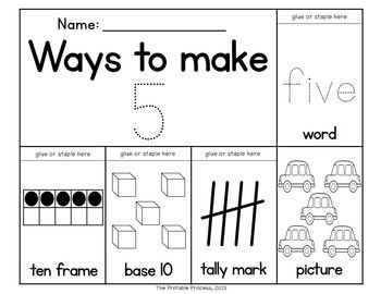 Number words, First 20 days and Number anchor charts on Pinterest