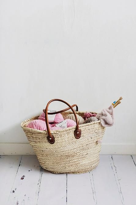 amazine... knitting basket