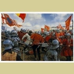 Bosworth Melee Print BOB-15 - Buy from By The Sword, Inc.