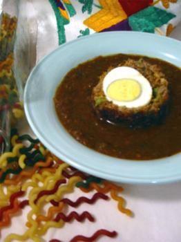 Nargisi Koftay Recipe - Pakistani Main Course Mutton/Beef/Lamb, Ground Beef, and Egg Dish - Fauzia's Pakistani Recipes - The Extraordinary Taste Of Pakistan