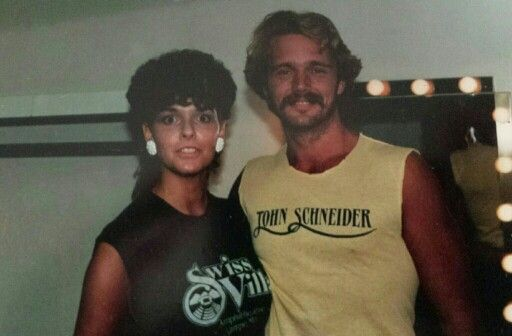 Belinda and John Schnider at Swiss Villa ~ early 80's❤❤❤❤