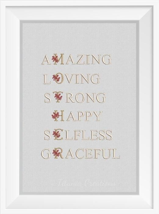 Floral Mother Quote 5x7 | Quotes & Sayings | Pinterest ...