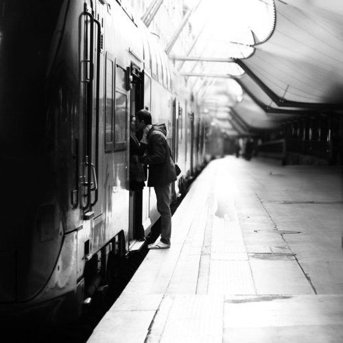 #train #goodbye #love