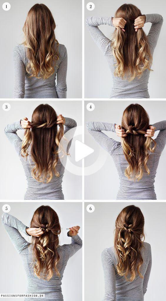 50++ Easy hairdos for girls ideas in 2021