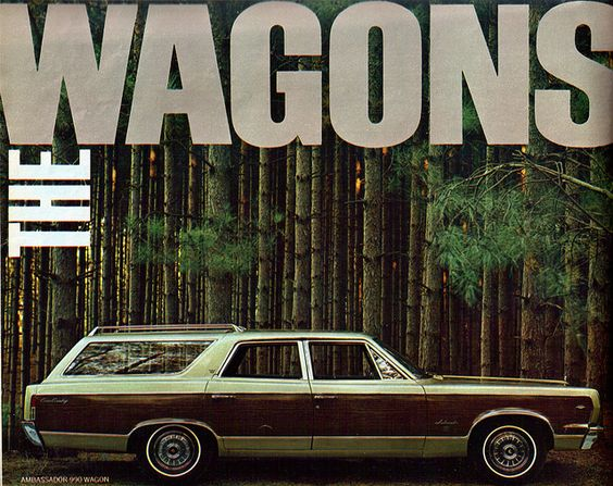 1967 American Motors Ambassador 990 Station Wagon by coconv, via Flickr: Tank, Station Wagon