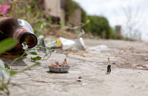 little-people-project-28 par le photographe Slinkachu