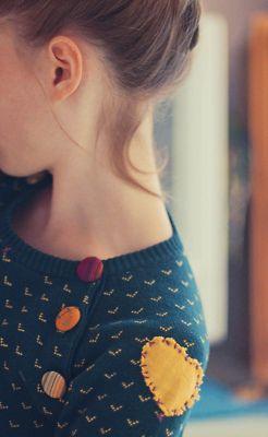 Pippi Longstocking-esque sweater details