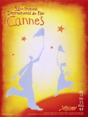 Official Festival de Cannes Poster, 1999