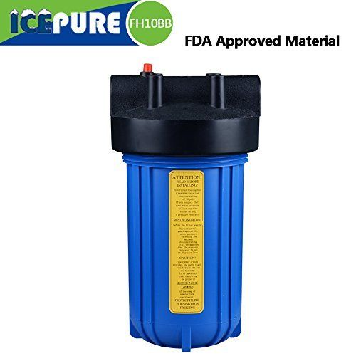 Whole House Water Filter Housing Compatible For Dupont Wfhd13001b Size 10 X4 5 Whole House Water Filter House Water Filter Easy Install