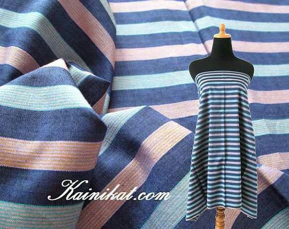 Stripes are the fashion trend...especially with Ikats.