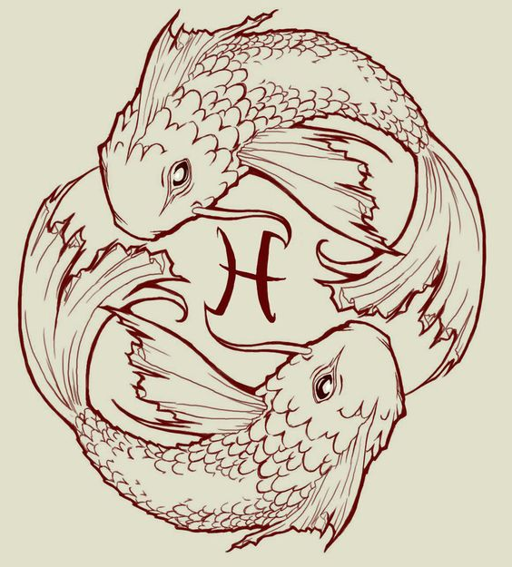 Fish drawings designs for tattoos pisces koi fish by for Japanese koi names