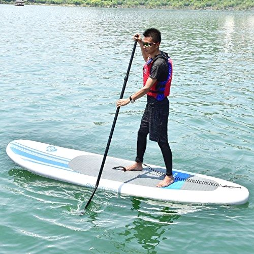 Md Party Sup Board Stand Up Paddle 10 Foot Inflatable Eva Adjustable Amp Light Weight Up Best Inflatable Paddle Board Inflatable Paddle Board Standup Paddle Board