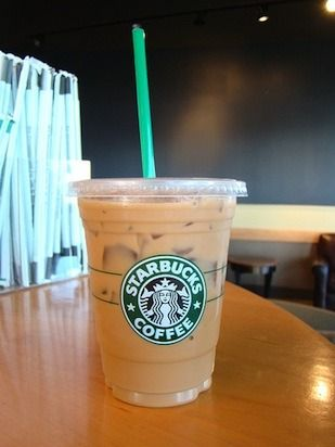 My favorite from Starbucks:  Dirty Chai (chai latte with shot of espresso).  Good hot or cold...
