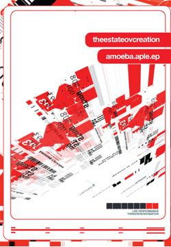 """Aple-arrange/ process/ loop/ édit explains the creative process of audiovisual multimedia artist amoeba (a.k.a scott mcpherson). This dynamic collection of animated typography + design highlights his series of investigations, matured in style + refined in technique. To further the experimentation a number of guest artists were asked to re-interpret the aple technique, resulting in a additional collection of """"reaction"""" spawned from amoebas original versions."""