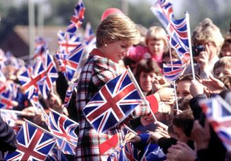 Read the story: How Diana Transformed Britain by clicking on the link in this pin.