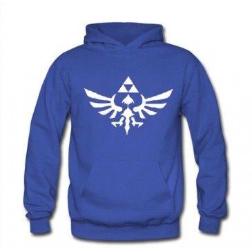 The Legend of Zelda Logo Pullover Hoodies