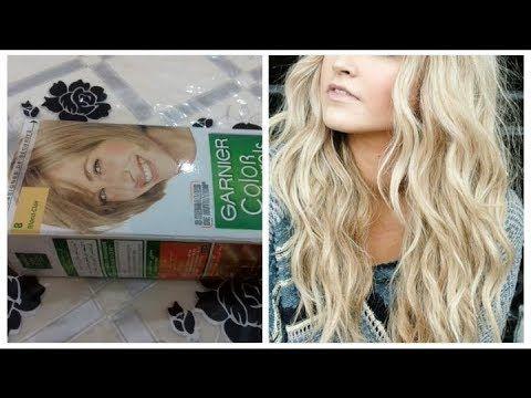 تحصلي على لون اشقر فاتح جدا بصبغة واحدة غارنييه نصائح وخطوات مهمة للمبتدئين Youtube Long Hair Styles Hair Styles Hair