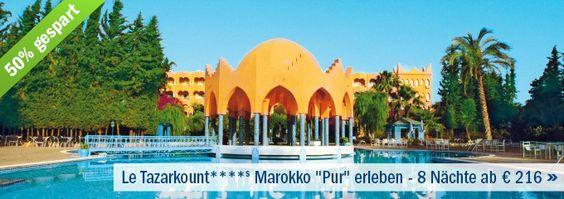 Deal der Woche: 50% sparen im Le Tazarkount ****s in Marokko: 8 Nächte schon ab unglaublichen 216€!!! Mehr unter: http://www.fitreisen.de/guenstig/marokko/mittleres-atlas-gebirge/afourer/le-tazarkount/ #marokko #tazarkount #afourer