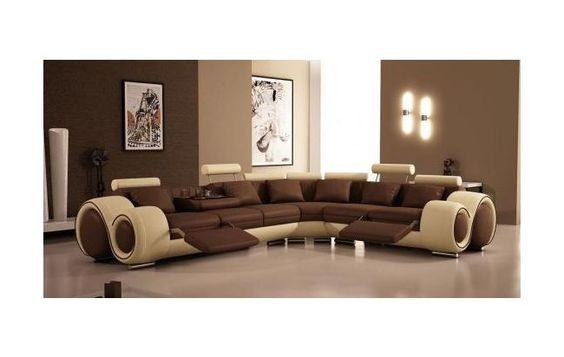 Sillas modernas salas para el hogar juegos de muebles for Adornos para el hogar modernos