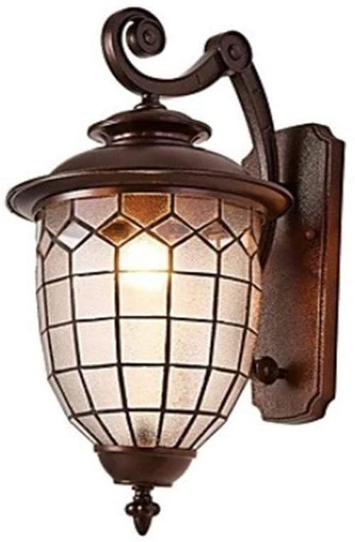 Ysj Antique Style Outdoor Wall Lamp Waterproof Garden Light Villa Exterior Lantern Wall Lamp Retro Met In 2020 Outdoor Wall Lamps Metal Lighting Outdoor Light Fixtures