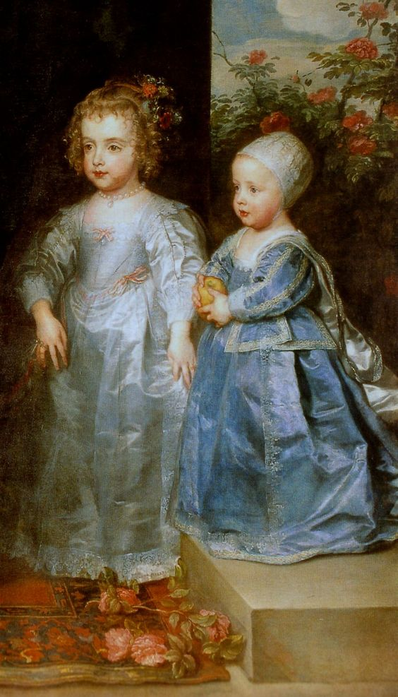 Sir Anthony van Dyck, The Three Eldest Children of Charles I.) (detail) Antonis van Dyck (Antwerpen 1599 - London 1641) (1637) Galleria Sabauda, Torino